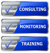 consulting, monitoring, training
